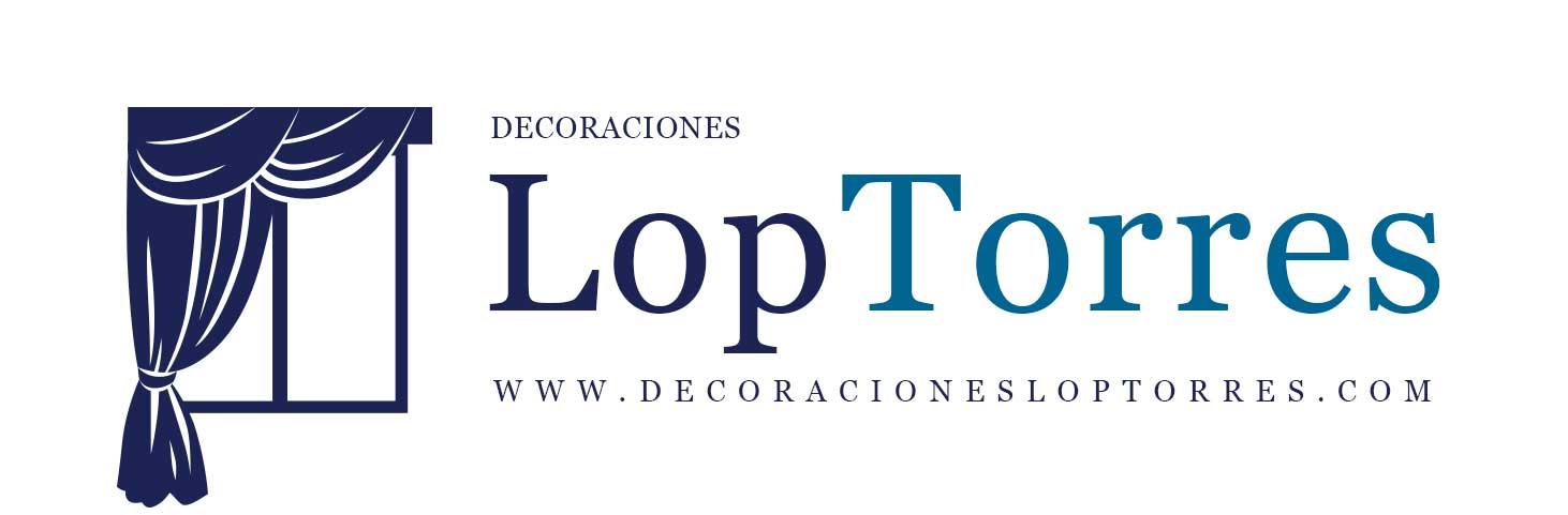 Decoraciones LopTorres - Logo nuevo