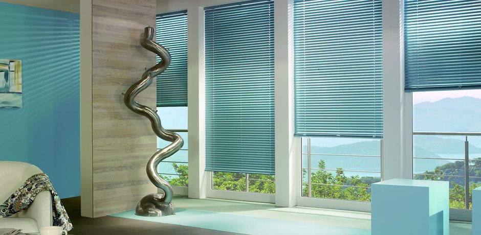 Decoraciones LopTorres - Persiana horizontal en aluminio